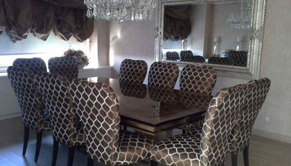 Sofisticated-Fort-Lee-Dining-Room-with-Custom-Table  |  500